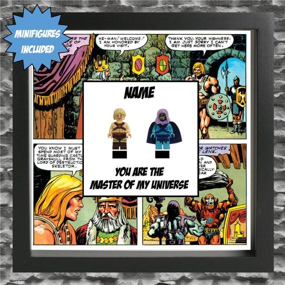 He-Man And Skeletor Minifigure Frame
