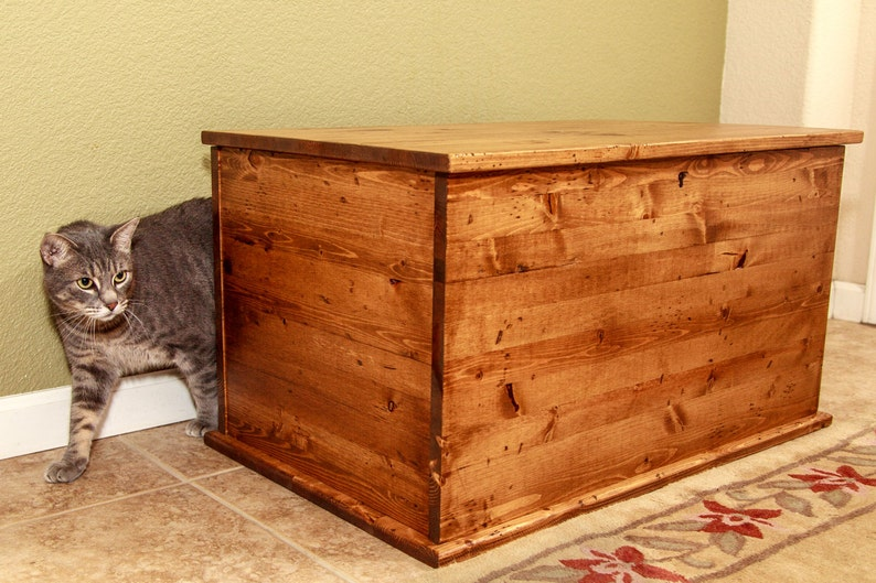 Shaker Style Chest Litter Box Cover image 0