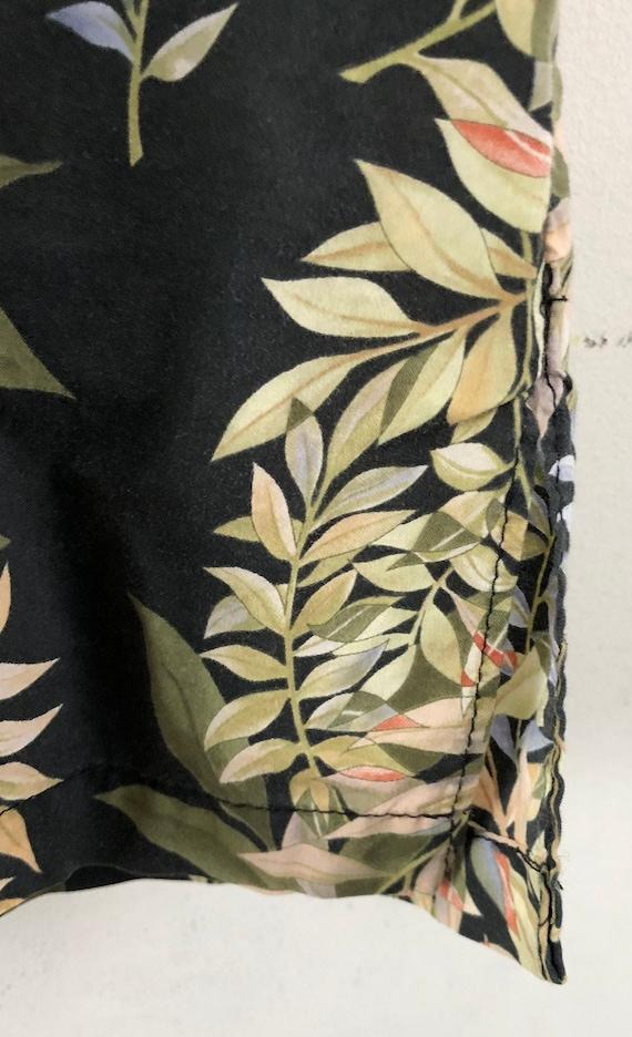 Vintage Mens Hawaiian Shirt | 90s Tori Richard Fl… - image 5