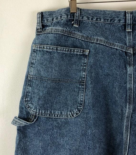 Vintage Mens Wrangle Denim Shorts | 90s Medium Wa… - image 7