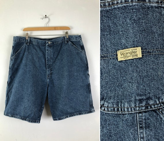 Vintage Mens Wrangle Denim Shorts | 90s Medium Was
