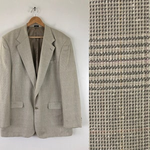 Size 44 Regular Beautifull Tailored Men/'s Silk Sport Coat Jacket by Coconut Grove