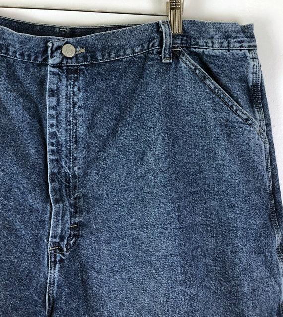 Vintage Mens Wrangle Denim Shorts | 90s Medium Wa… - image 3