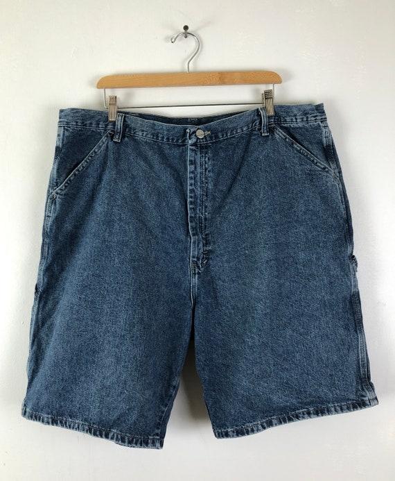 Vintage Mens Wrangle Denim Shorts | 90s Medium Wa… - image 2