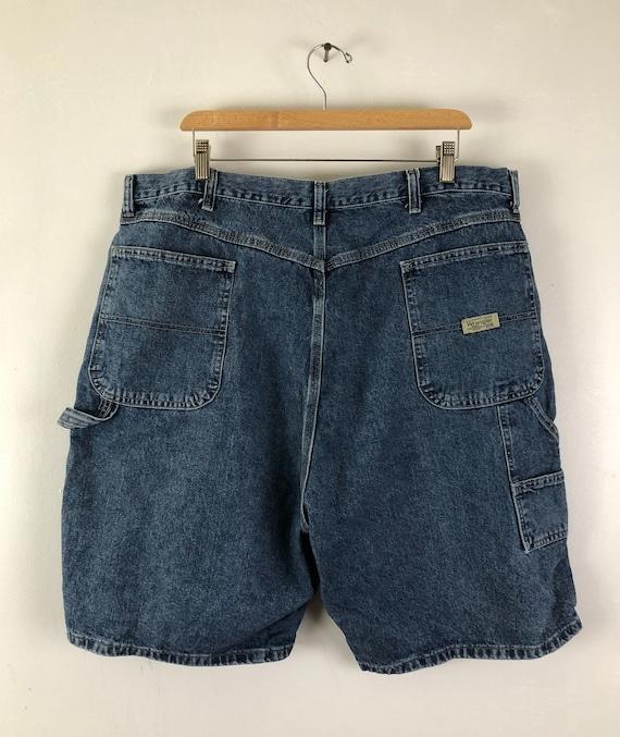 Vintage Mens Wrangle Denim Shorts | 90s Medium Wa… - image 5