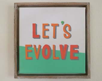 Let's Evolve (LOVE)