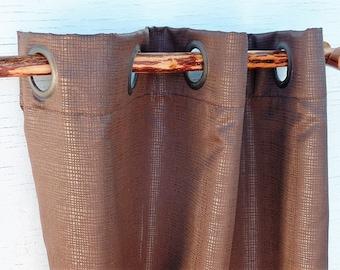 Cedar Wood Curtain Rod For Rustic Home Decor Farmhouse Lake House Or Cabin Country Curtains Inc Brackets