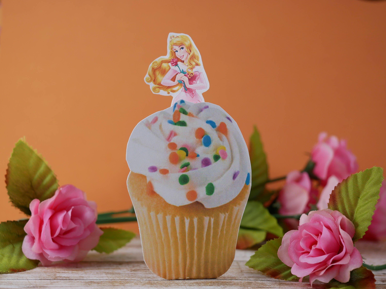 Sleeping Beauty Birthday Theme Princess Aurora Cupcake Etsy