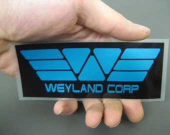 Prometheus Weyland Industries Corporation Corp sticker decal from Aliens