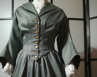 1800's Civil War Style Dress