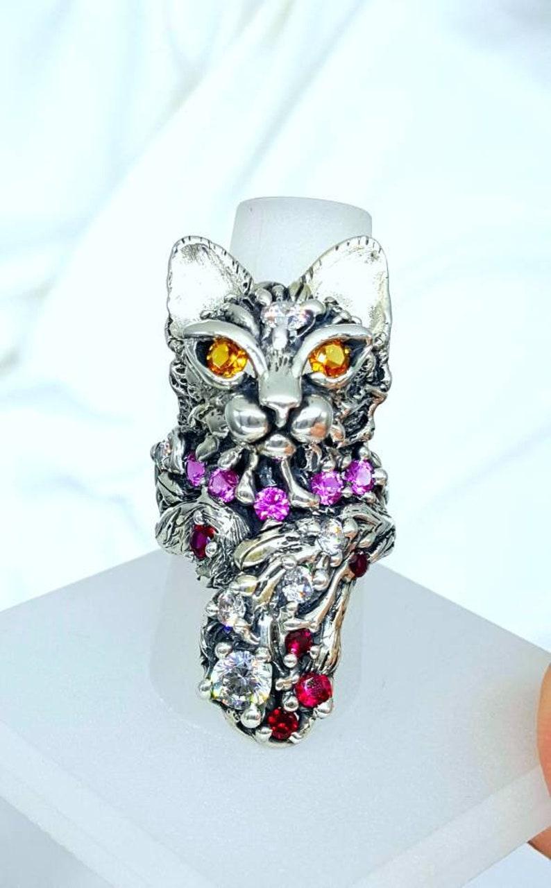 Big kitty Joann Marie jewelry image 0