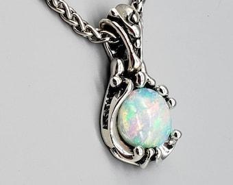 Opal custom design pendant