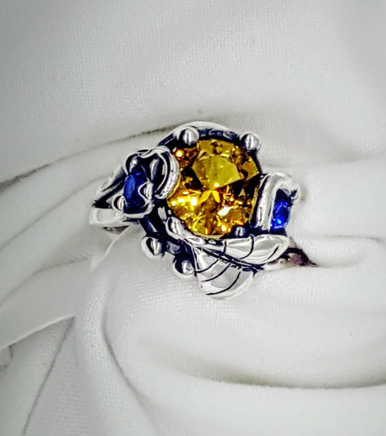 Leaves and Vines. leaves and Vines ring. nature ring. nature image 0