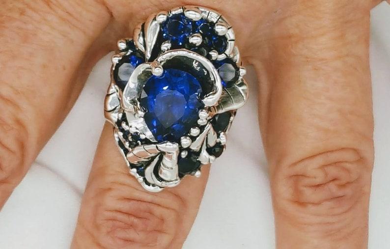 Big blue joann Marie jewelry image 0