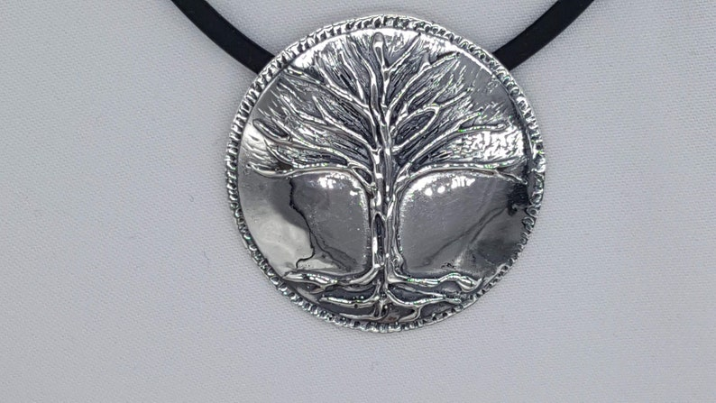 Tree and Vine Pendant Leaf and Vine Nature Inspired Joann image 0
