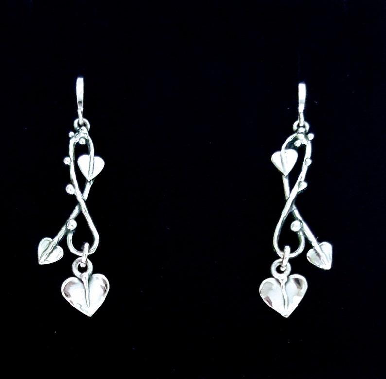 Leaves and Vine earrings image 1