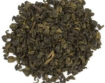 Plymouth Tea, Premium Quality Artisan Pinhead Gunpowder Loose Leaf Tea 100g