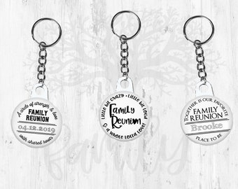 Family reunion Key chain favors. Keychain favors. Custom keychain  Personalized key chain Bulk keychain Family reunion party Family gathering 39fb0093cd