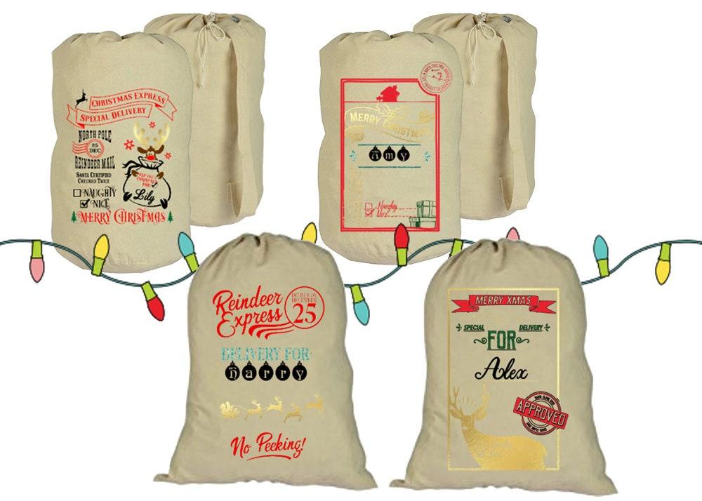 santa sack christmas personalized gifts christmas gifts santa claus