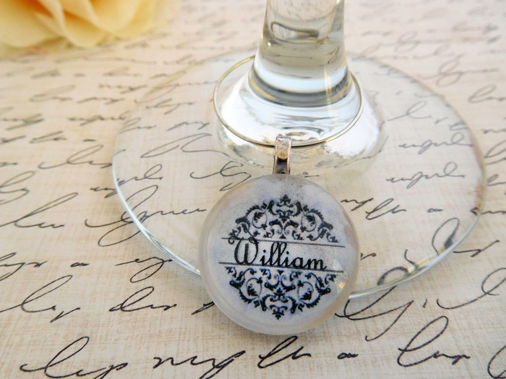 Wine Charm Set Party Favor Charms Wedding Favor Charms Custom Wine