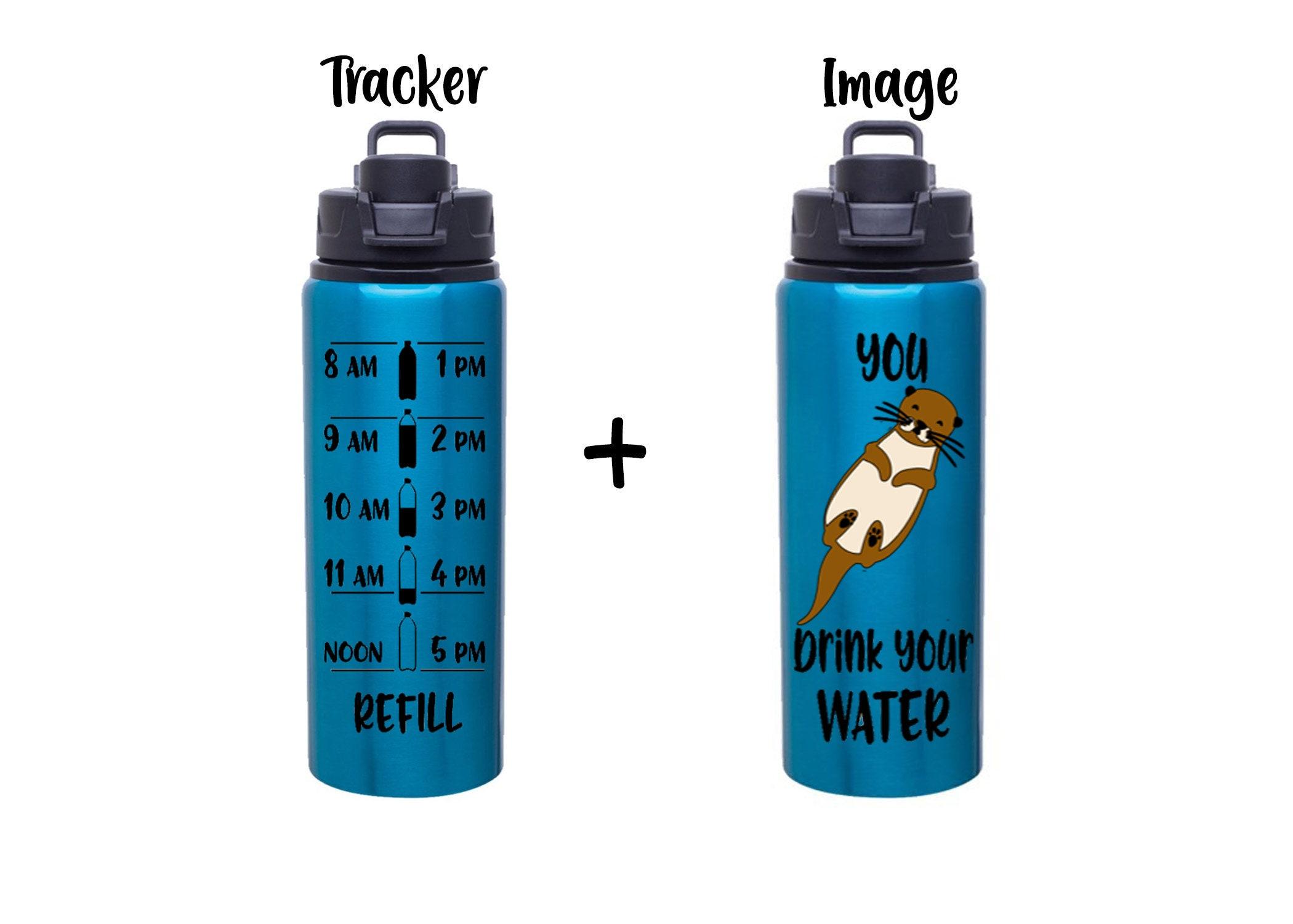 666e8d1c44 Custom water bottle. Personalized otter bottle. gallery photo gallery photo  gallery photo ...