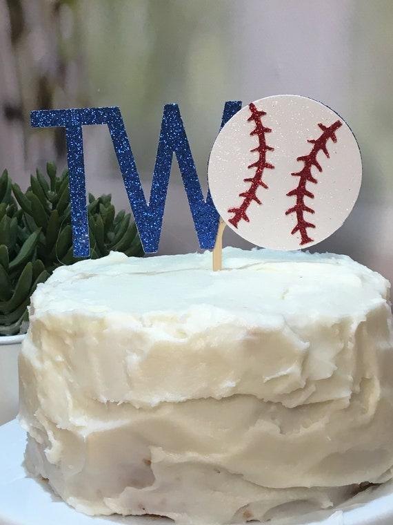 Fabulous Baseball Birthday Cake Topper Birthday Ideas Summer Etsy Funny Birthday Cards Online Fluifree Goldxyz