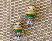 Earring worry dolls...