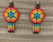 Maya earrings / aretes Ma...