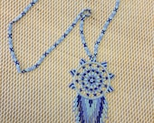 Necklace dream catcher...