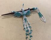 Humming bird hair clip...