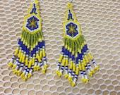 Earring maya artesania...