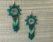 Dreamcatcher earrings...