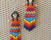 Earring beads dolls...