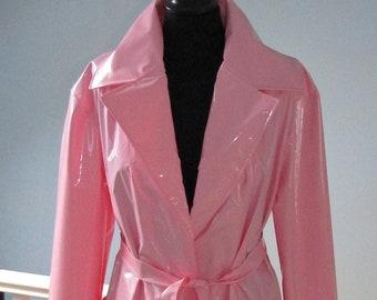 PVC Unlined Full Length Coat - Various Colours