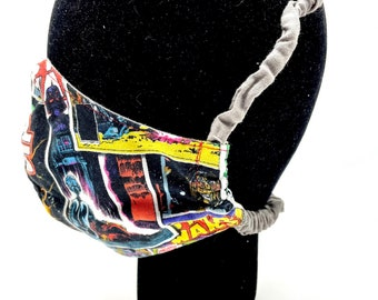 Behind the Head Reusable & Machine Washable Cotton Face Masks
