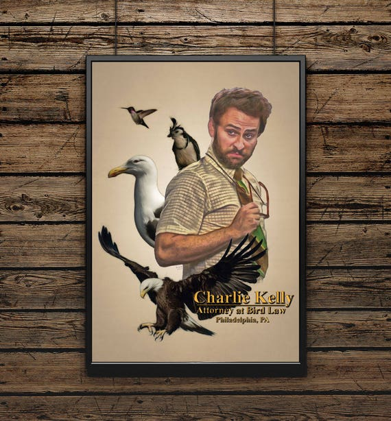 Charlie Kelly Attorney At Bird Law Its Always Sunny In Etsy Share the best gifs now >>>. charlie kelly attorney at bird law its always sunny in philadelphia wall art color pencil portrait poster print