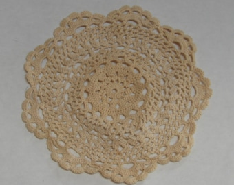 Vintage Hand Crocheted Doiley