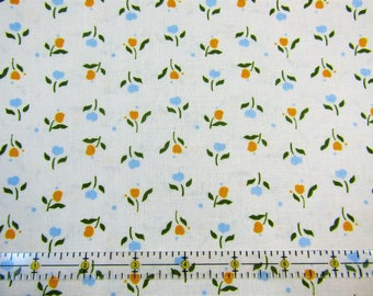 Mary Fons Small Wonders - Nether Flowers Cream Fabric