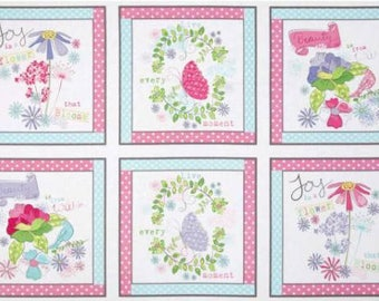 Louise Allen Pretty Little Things Fabric Panel
