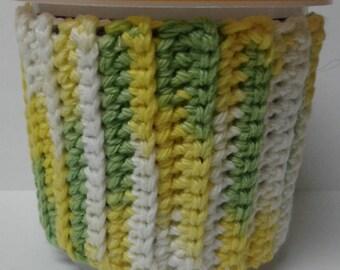 Green, Yellow & White Ice Cream Sweater