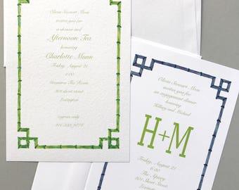 invitation announcement c buxton designs