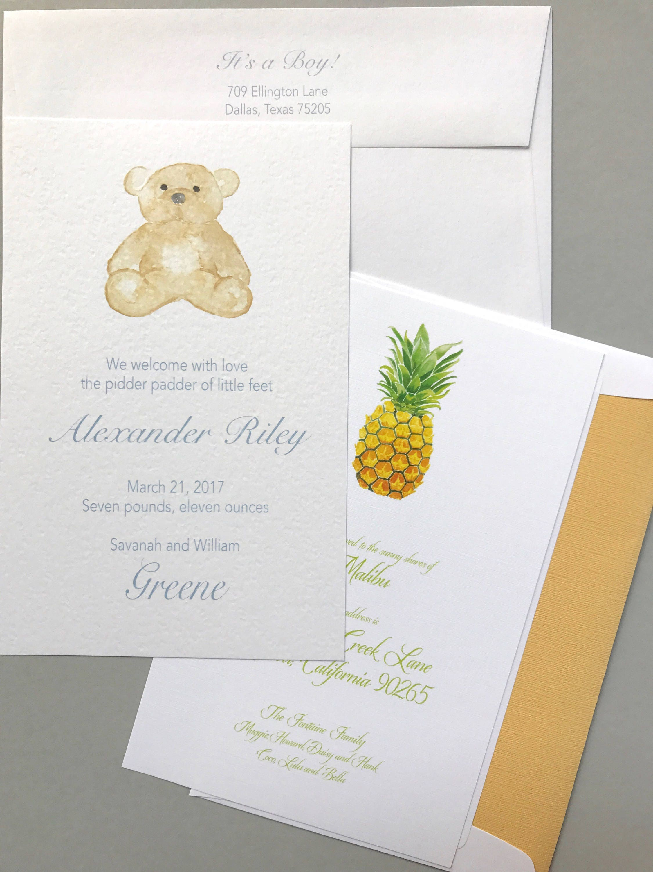 Birth Announcements, Birthday Invitations, Baby Shower Invitations ...