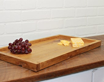 Serving tray, serving board, kitchen decor, large tray , charcuterie board, hostess gift