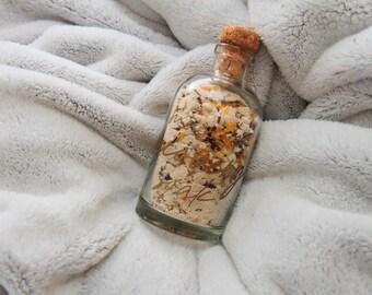 Soothing Bath Soak // Sore Muscles Bath Salts // Bath Salts // All Natural // Spa Bath Blend