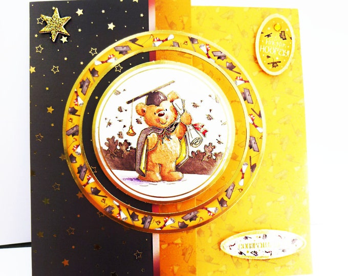 Graduation Card, Congratulation Card, You Did It Card, You Passed Card, Well Done, Your A Star, Male Or Female Card