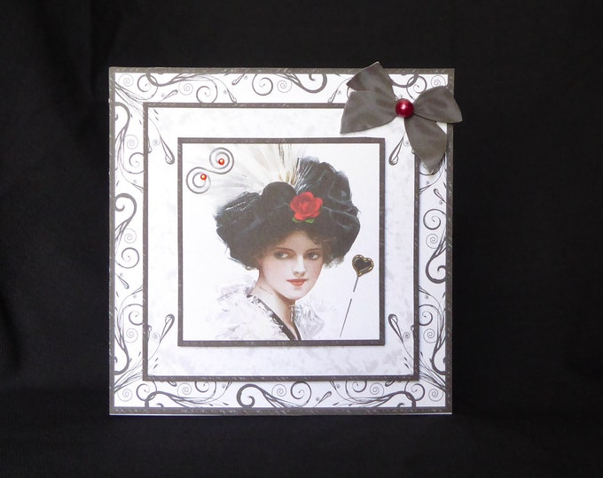 Vintage Style Card, Decoupage Card, Especially For You, Special Day Card, Birthday Wishes, Birthday Greetings, Handmade In The UK