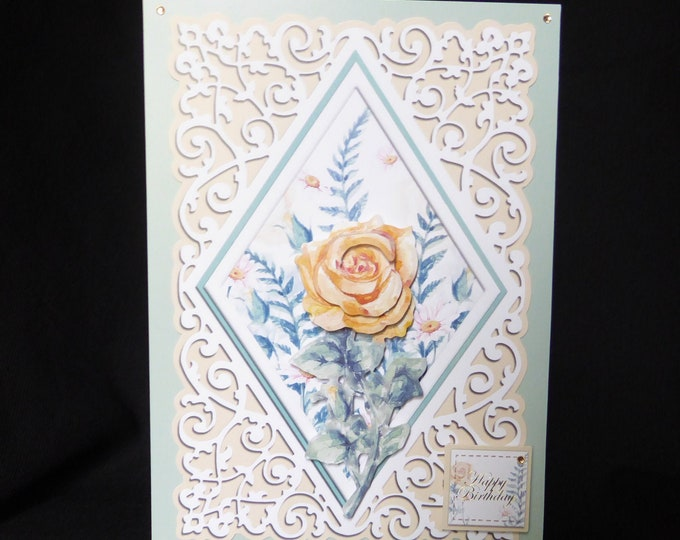 Decoupage Floral Card, Especially For You, Special Birthday, Special Day, Birthday Greetings, Happy Birthday, Celebrate Your Day, Handmade