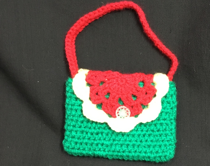 Small Bag For small Things, Crochet Handmade Bag, Small Special Gift,