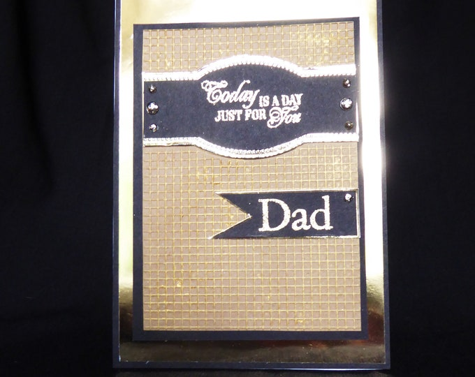 Birthday Card, Card For Dad, Special Dad, Special Father, Especially For You, Just For You Dad, Handcrafted, Personalised