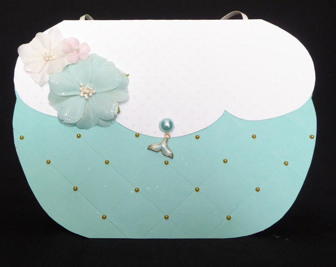 Handbag Shaped Card, Bag Card, Best Wishes Card, Especially For You, Special Brithday, Birthday Greetings, Special Day Card